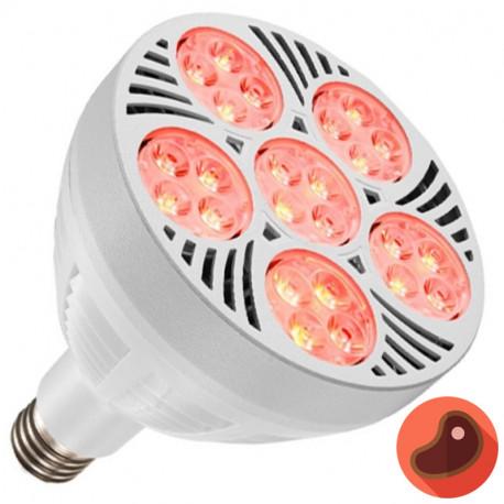 BOMBILLA LED PAR38 50W E27 LUZ NEODIMIO 2700K