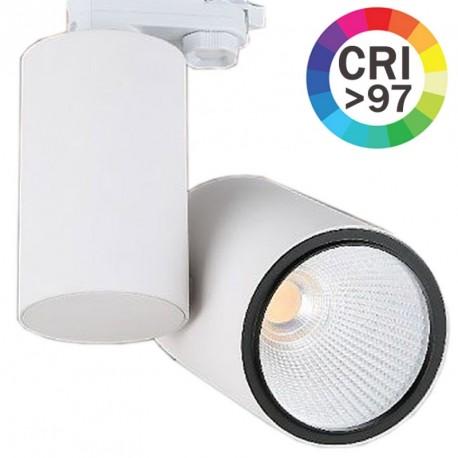 FOCO CARRIL LED BLANCO 35W CRI90