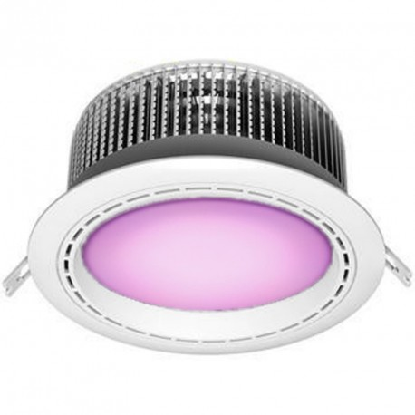 DOWNLIGHT LED 50W LUZ MORADA ESPECIAL CARNE
