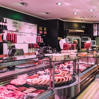 CARNICERIA ILUMINADA CON DOWNLIGHTS LED